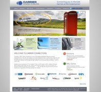 Carrier Connections Website