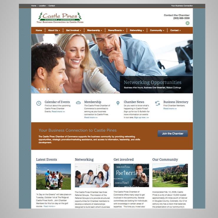 Castle Pines Chamber Website