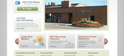 Castle Rock Bank Website