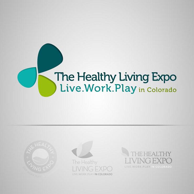 The Healthy Living Expo Logo
